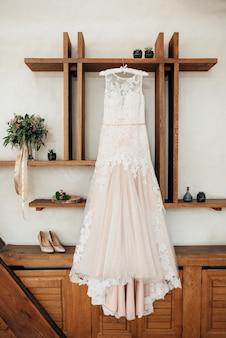 Robe de mariée parfaite le jour du mariage
