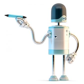 Robot écrit avec un stylo