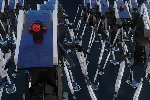 Robot génératif - personnage 3d