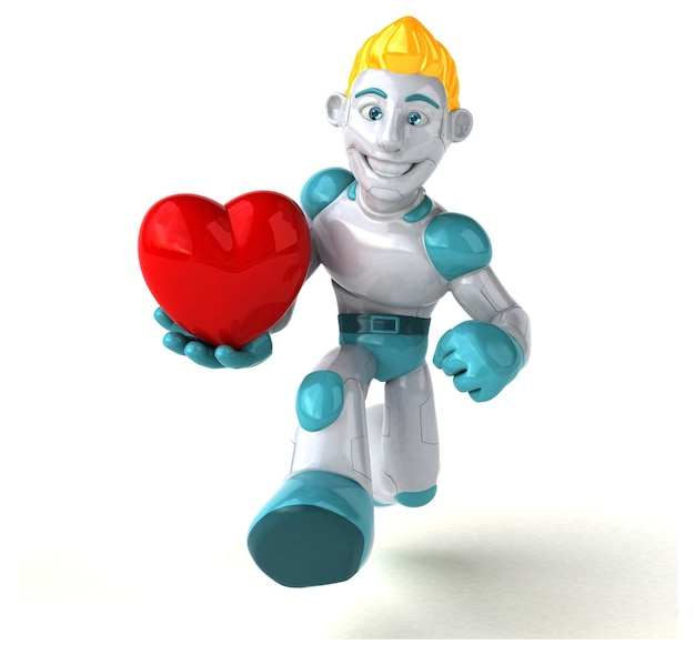 Robot - illustration 3d