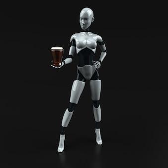 Robot - personnage 3d