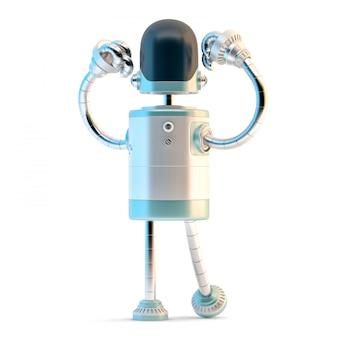 Robot puissant.