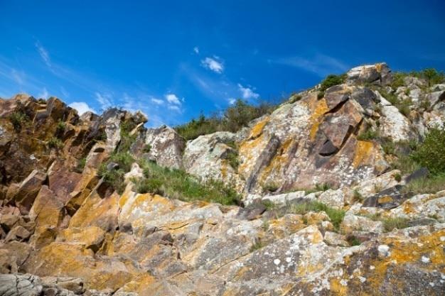 Robuste falaises normandie