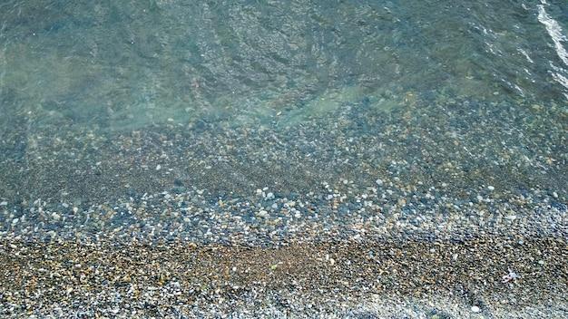 Rochers et eau de mer
