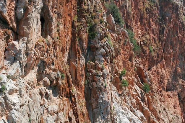 Rock à alania, turquie