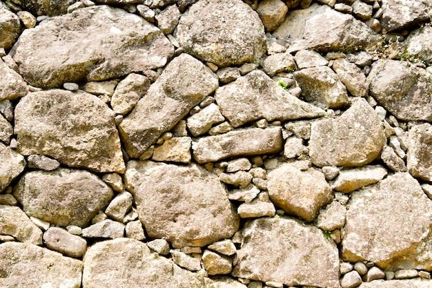 Rock, fond de mur en pierre