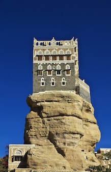 Rock palace au yémen