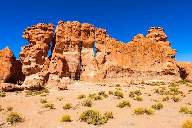 Rocks valley, bolivie