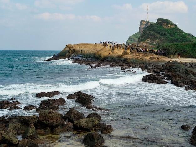 Rocky seashore park sites touristiques à taiwan
