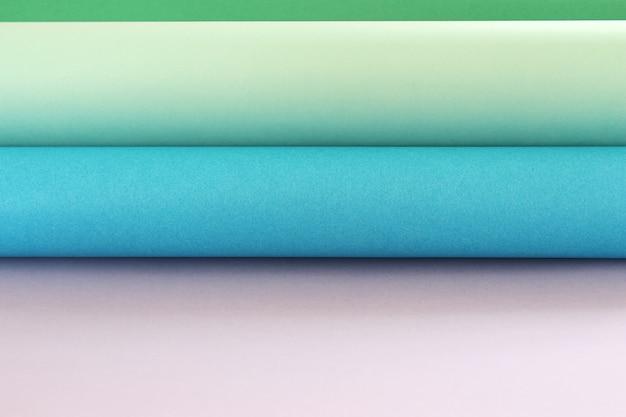 Rôles du fond de papier de couleur