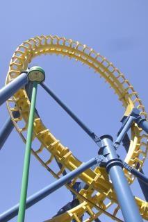Roller coaster, métalliques