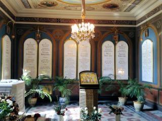 Romanov famille tombes russie cimetière