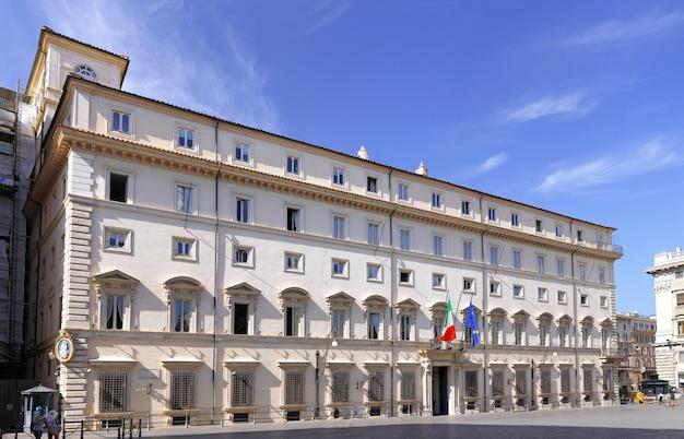Rome, le palais du quirinal, la résidence officielle des présidents de la république italienne. panorama