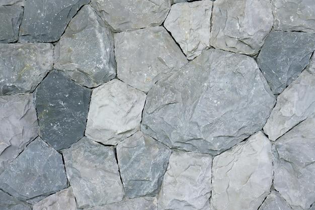 Rond & pentagone motif et fond de pierre noire