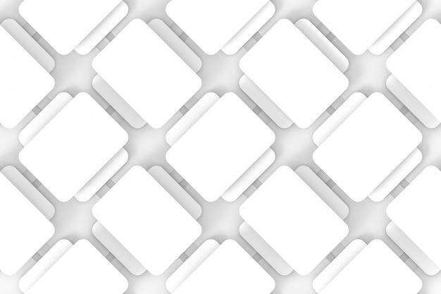 Rond sans soudure fond de mur de motif carré rayé.