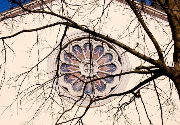 Rosace du sanctuaire marial sur la barbana