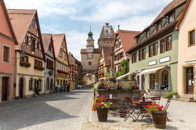 Rothenburg ob der tauber allemagne