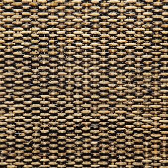 Rotin tissé avec des motifs naturels