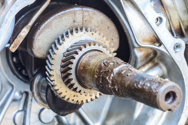 Roue dentée de l'ancien moteur
