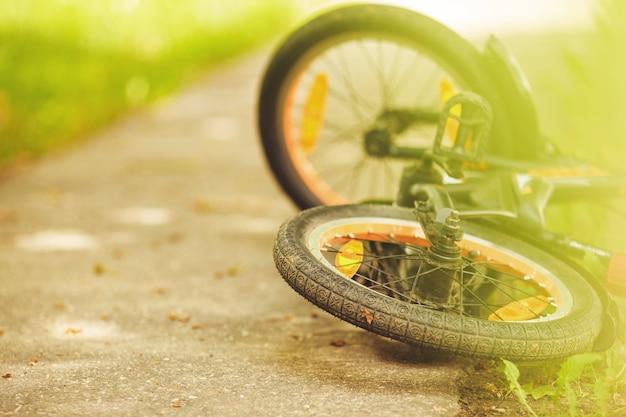 Roue d'un vélo pour enfants