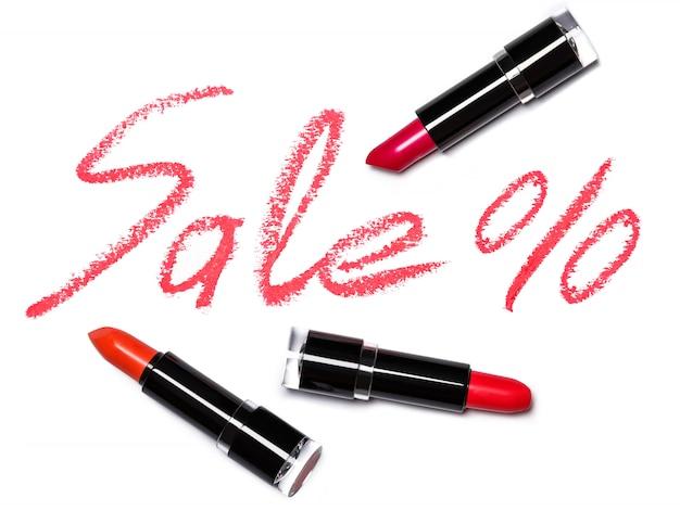 Rouge à lèvres avec inscription vente