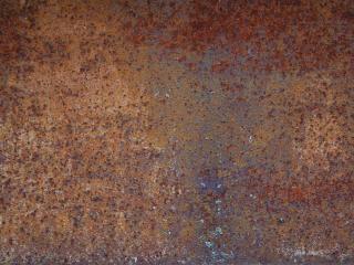 Rouille texture métallique