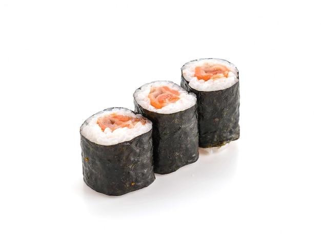 Rouleau ebi de saumon