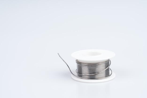 Rouleau de fil à souder pour la soudure