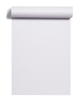 Rouleau de papier blanc