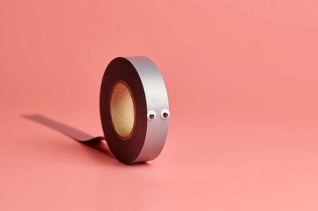 Rouleau de ruban électrique, espace de copie
