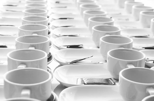 Rouleau de tasse de café pour le séminaire