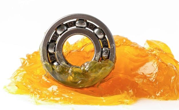 Roulement à billes en acier inoxydable avec lubrification des machines au lithium