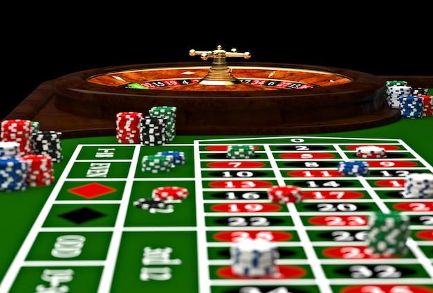 Roulette de casino classique