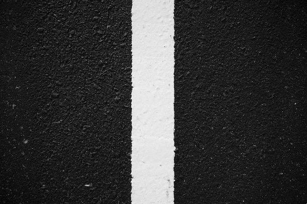 Route asphalte marquage route fond texture ligne blanche