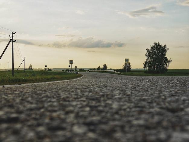 Route asphaltée