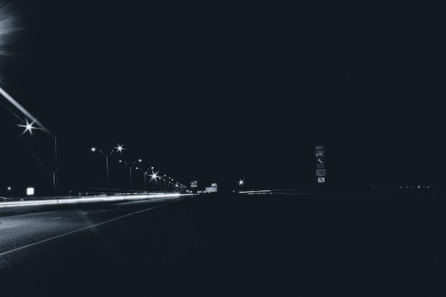 Route au fond de la nuit