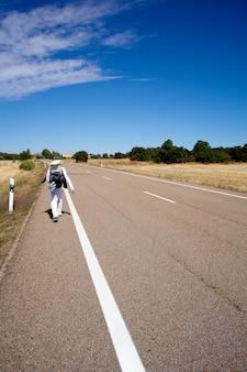 Route, chemin de saint-jacques