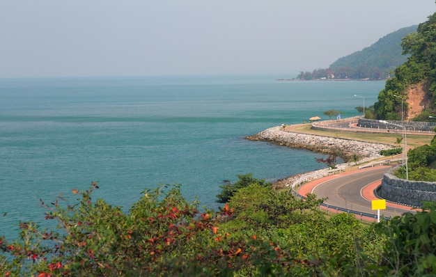 Route côtière pittoresque chantaburi