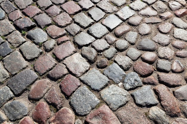 Route faite de pierres