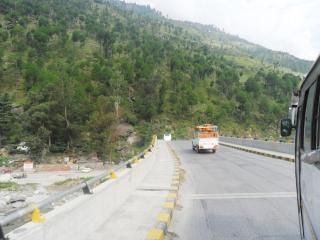 Une route à manali