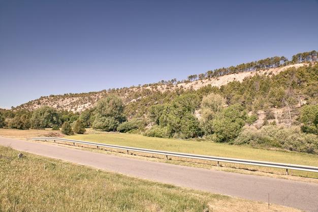 Route de montagne asphaltée