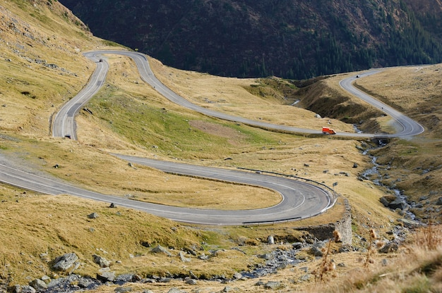 Route de montagne transfagarasan