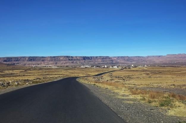 La route en montagne