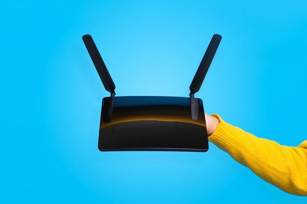 Routeur wifi à portée de main