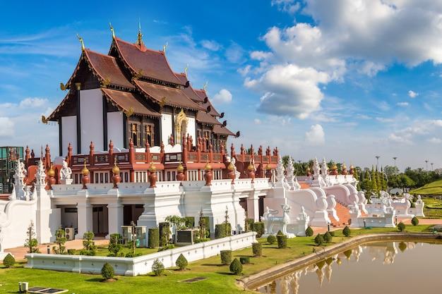 Royal ratchaphruek park à chiang mai, thaïlande