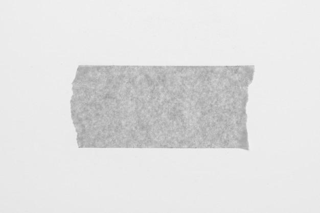 Ruban adhésif monockrome sur fond blanc