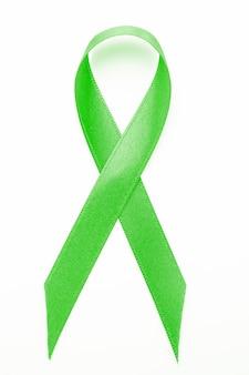 Ruban de conscience vert