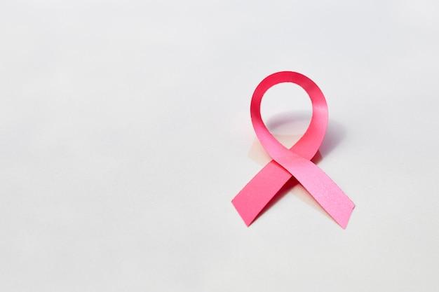 Ruban rose. concept de cancer