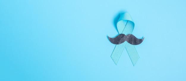 Ruban vue de dessus avec moustache