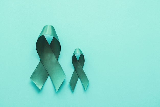 Rubans sarcelle, cancer de l'ovaire, cancer du col utérin